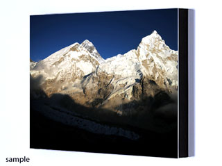 A photo panel of the Everest view of your choice!