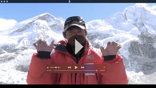 Video just for you shot at Everest base camp!
